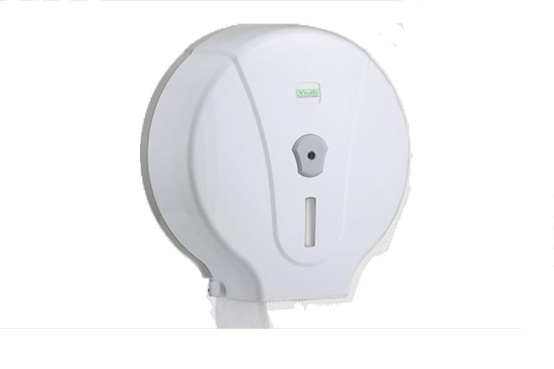 Dispenzer za Jumbo Toalet papir bele boje