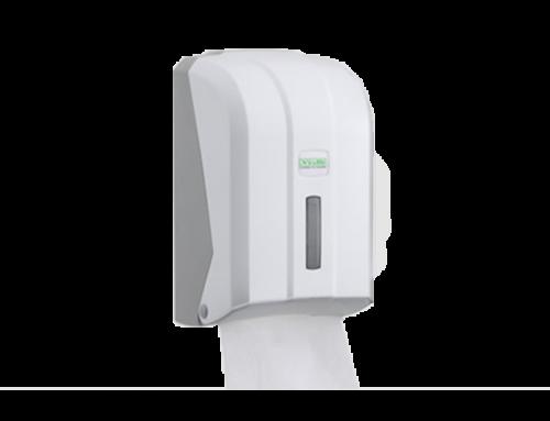Dispenzer za složivi toalet papir Bela