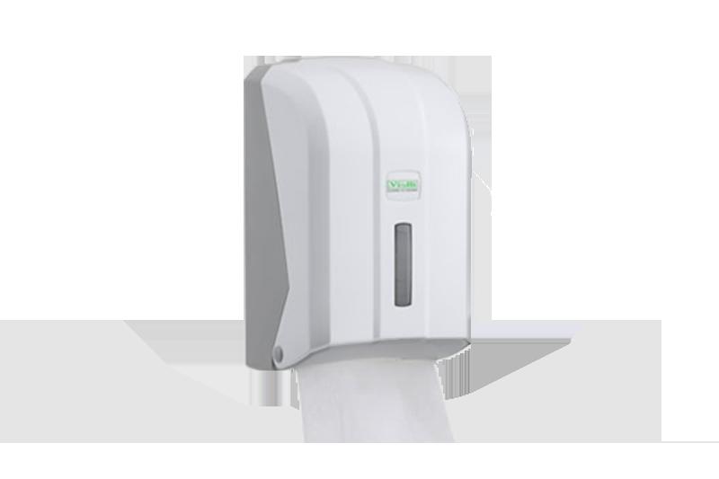 Dispenzer za složivi toalet papir Bela boja