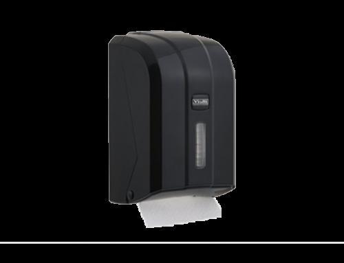 Dispenzer za složivi toalet papir Crna