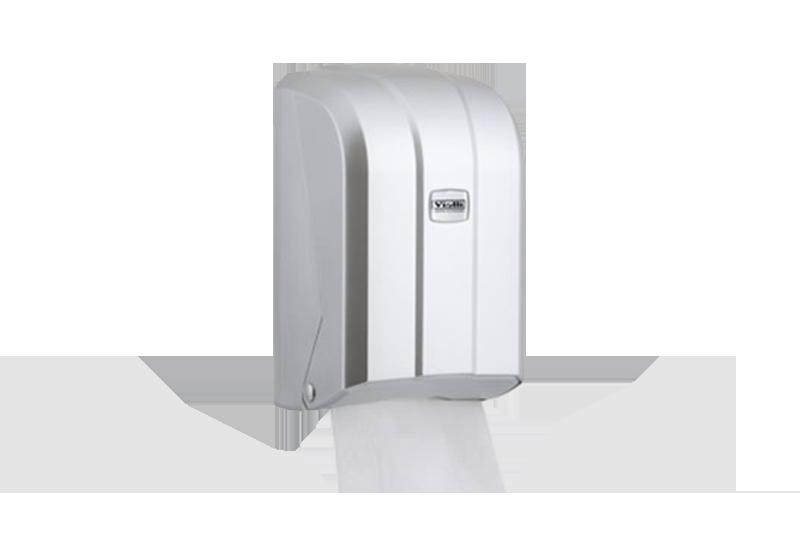 Dispenzer za složivi toalet papir Srebrna boja