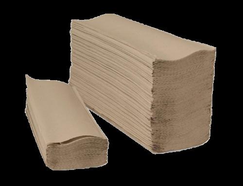 Folded paper towels Natur Eco