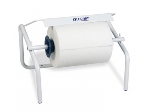 Lucart wall mount for industrial roll