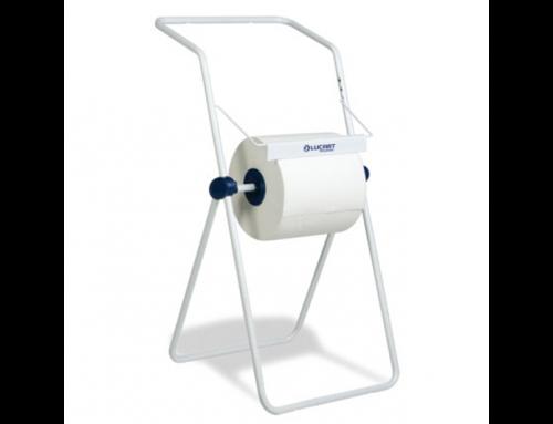 Lucart floor roll holder for industrial roll