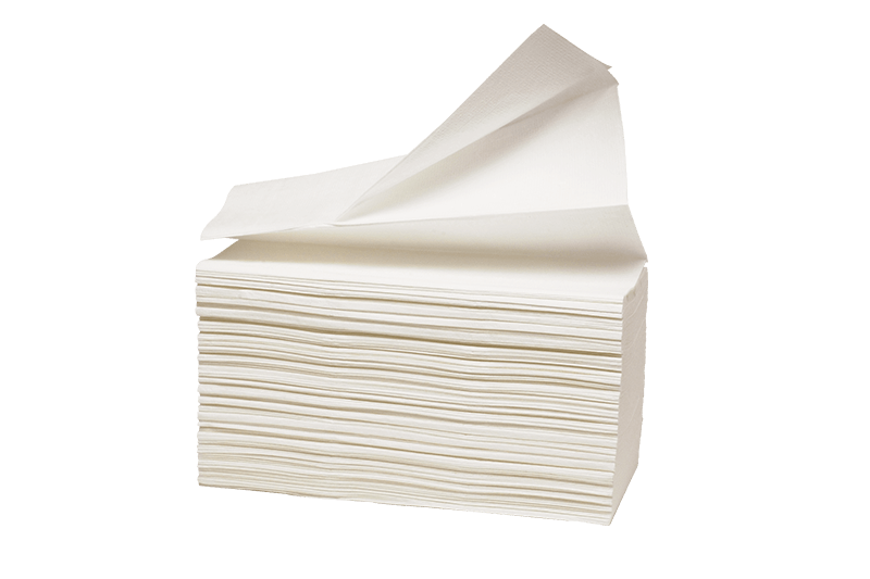 Papirni program Složivi papirni ubrusi 100% celuloza