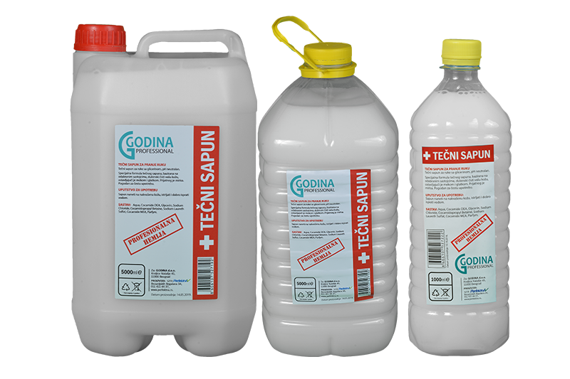 Sredstva za održavanje higijene tečni sapun
